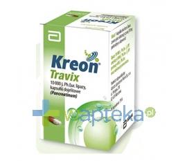 SOLVAY PHARMA SA Kreon Travix 10000 kapsułki 50 sztuk