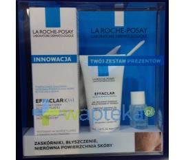 LAROCHEPOSEY LA ROCHE EFFACLAR K+ Krem 30ml + EFFACLAR żel 50ml + Tonik 15ml