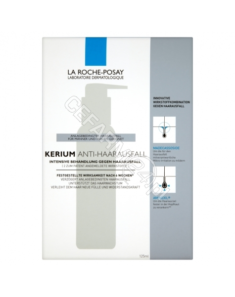 LA ROCHE-POS La roche kerium intensywna kuracja przeciw wypadaniu włosów 125 ml