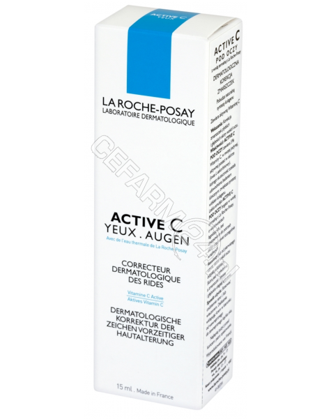 LA ROCHE-POS La Roche-Posay Active C yeux krem pod oczy 15 ml