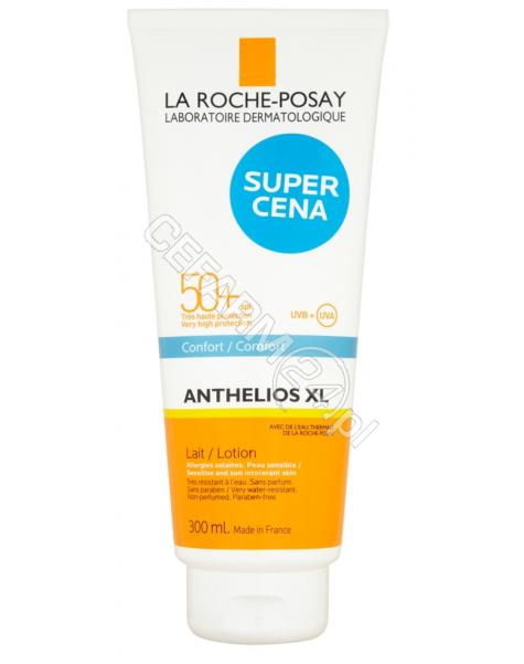 LA ROCHE-POS La Roche-Posay anthelios xl spf 50+ familijne mleczko do ciała 300 ml + La Roche Lipikar Syndet żel-krem do mycia twarzy i ciała 100 ml