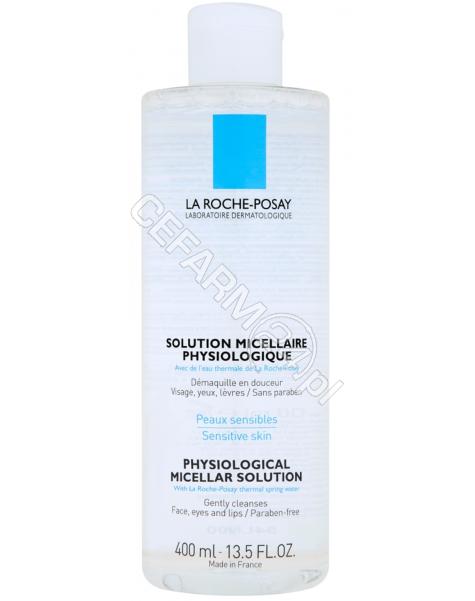 LA ROCHE-POS La Roche-Posay fizjologiczny płyn micelarny do demakijażu 400 ml