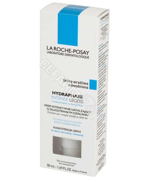 LA ROCHE-POS La Roche-Posay Hydraphase intense legere - krem intensywnie nawilżający o przedłużonym działaniu 50 ml