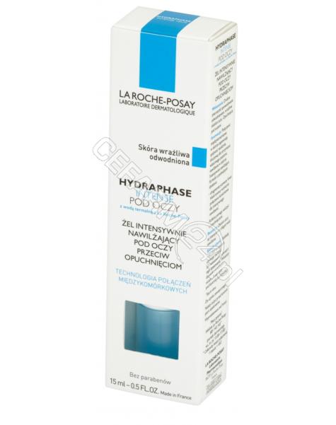 LA ROCHE-POS La Roche-Posay Hydraphase Intense Yeux - żel intensywnie nawilżający pod oczy 15 ml