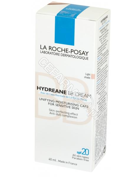 LA ROCHE-POS La Roche-Posay Hydreane BB light krem upiększający 40 ml