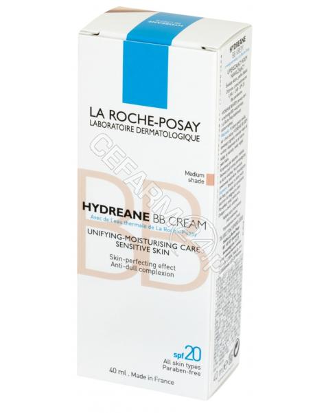 LA ROCHE-POS La Roche-Posay Hydreane BB medium krem upiększający 40 ml