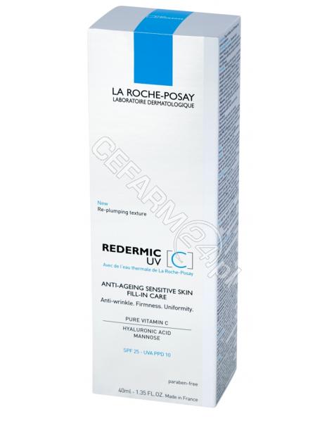 LA ROCHE-POS La Roche-Posay Redermic C krem wypełniający zmarszczki z ochroną UV 40 ml