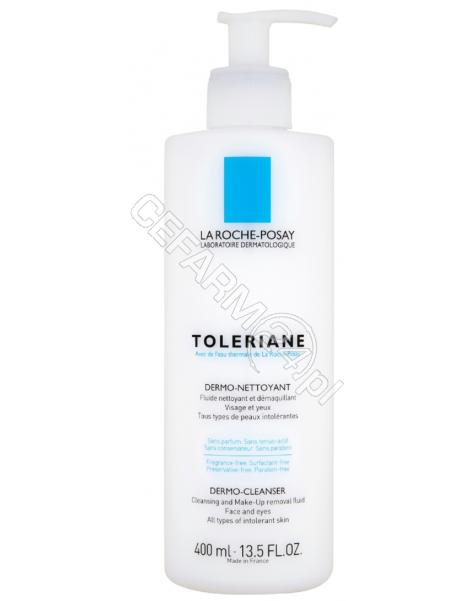 LA ROCHE-POS La Roche-Posay Toleriane dermo-nettoyant - mleczko do demakijażu 400 ml + La Roche płyn micelarny 50 ml + La Roche cicaplast balsam 3 ml (data ważności 30.09.2017)