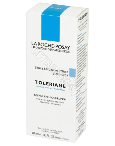 LA ROCHE-POS La Roche-Posay Toleriane SPA krem - kojący krem ochronny do skóry normalnej i mieszanej 40 ml