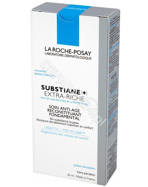 LA ROCHE-POS La roche substiane+ extra riche przeciwzmarszczkowy krem odbudowujący 40 ml
