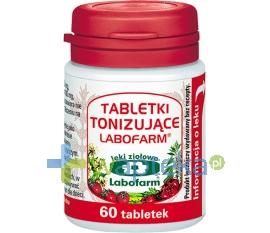Labofarm Labofarm Tabletki Tonizujące 60 sztuk