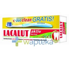 N.P.ZDROVIT SP Z O.O. Lacalut Activ Herbal Pasta do zębów 75ml + Szczotka Gratis