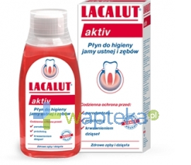 DR THEISS NATURWAREN GMBH LACALUT ACTIV Płyn do płukania jamy ustnej 300ml