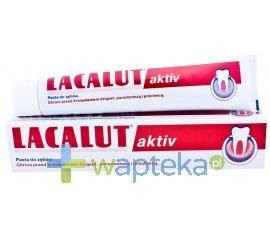 N.P.ZDROVIT SP Z O.O. LACALUT AKTIV Pasta do zębów 100ml