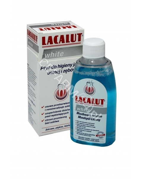 DR. THEISS N Lacalut white płyn 300 ml