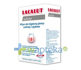 NP PHARMA SP Z O. O. Lacalut White Płyn do higieny jamy ustnej 300 ml