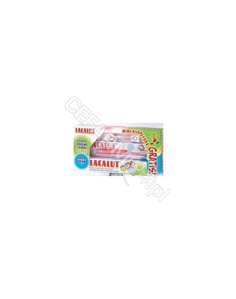 NATUR PRODUK Lacalut zestaw - pasta dla dzieci powyżej 8 lat 50 ml + szczoteczka + klepsydra GRATIS!!!