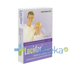 RANBAXY Lacidar, 20 tabletek