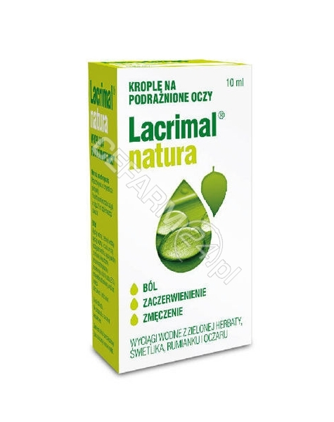 POLPHARMA Lacrimal natura krople do oczu 10 ml