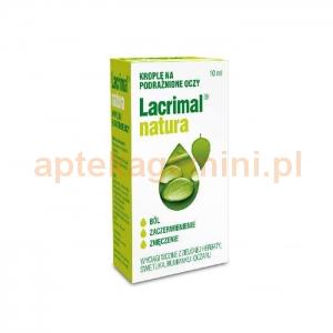 POLPHARMA Lacrimal natura, krople na podrażnione oczy, 10ml