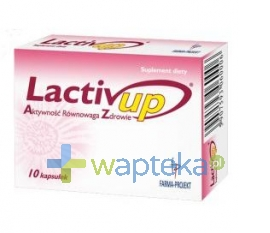 UNITED PHARMA SP. Z O. O. Lactiv up 10 kapsułek