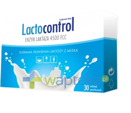 N.P.ZDROVIT SP Z O.O. Lactocontrol 30 tabletek