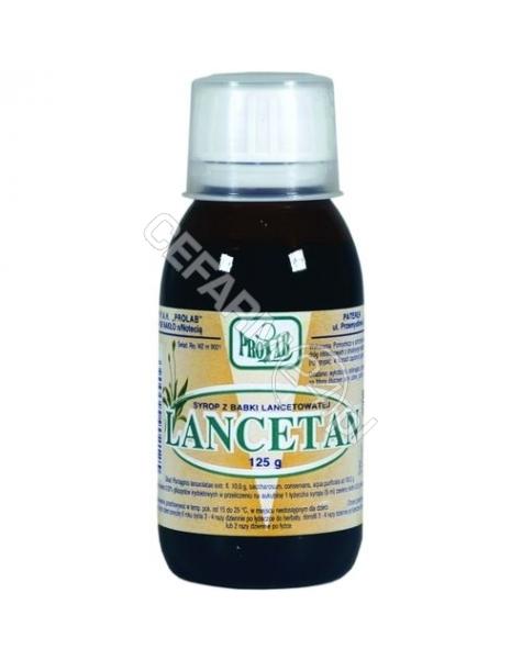 PROLAB Lancetan - syrop z babki lancetowatej 125 g