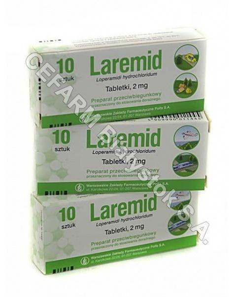 POLFA WARSZA Laremid 2 mg x 10 tabl