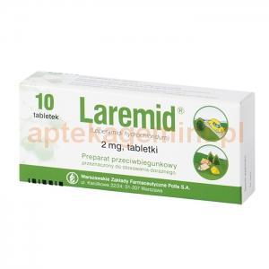 POLFA WARSZAWA Laremid 2mg, 10 tabletek