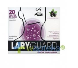 SIROSCAN SP. Z O.O. Laryguard 20 tabletek do ssania - Krótka data ważności - do 30-11-2015