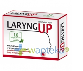 FARMA PROJEKT SP.Z O.O. Laryng Up 16 tabletek do ssania