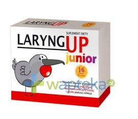 PHARMA NORD Laryng Up Junior 16 tabletek do ssania - Krótka data ważności - do 30-11-2015