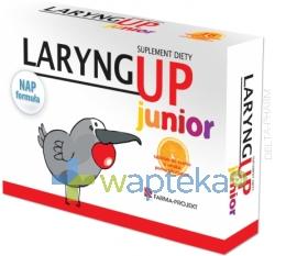RECORDATI POLSKA SP. Z O.O. Laryng Up Junior 24 tabletki do ssania