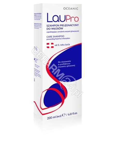 OCEANIC Laupro szampon pielęgnacyjny do włosów zapobiegający wszawicy 200 ml