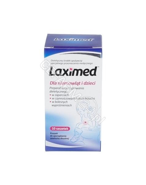 SEQUOIA Laximed dla niemowląt i dzieci x 10 sasz