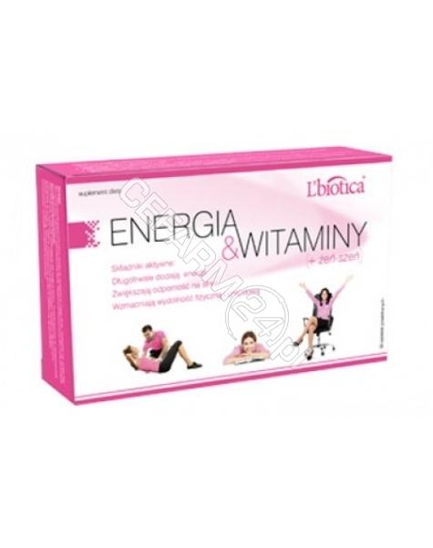 L'BIOTICA L'biotica energia & witaminy dla kobiet x 30 tabl