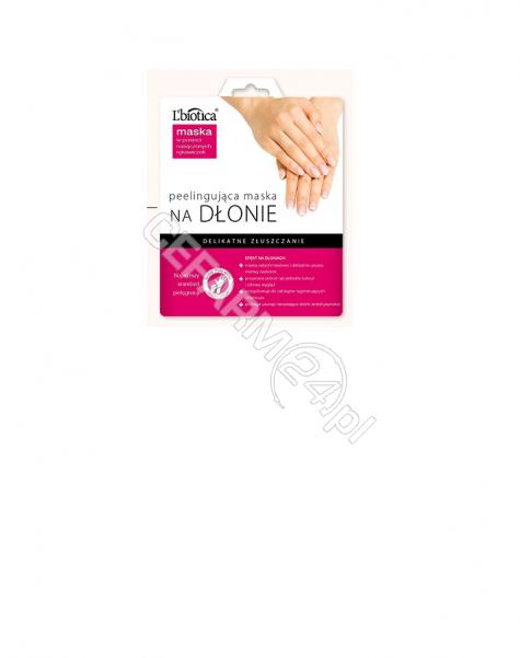 L'BIOTICA L'biotica peelingująca maska na dłonie (1 para)
