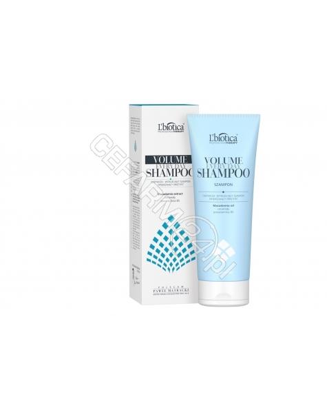 L'BIOTICA L'biotica Professional Therapy Volume odżywczo - witalizujący szampon zwiększający objętość włosów 250 ml