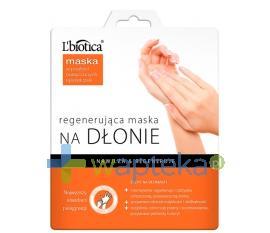 LBIOTICA Lbiotica regenerująca maska na dłonie w postaci nasączonych rękawiczek 1 para