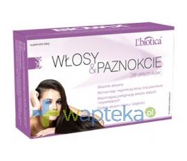 LBIOTICA Lbiotica Włosy i paznokcie program Biovax 28 składników 30 tabletek