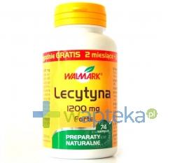 WALMARK Lecytyna 1200 mg Forte 74 kapsułki