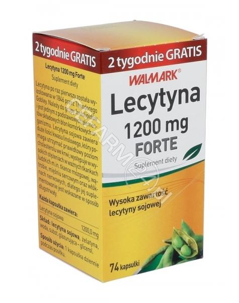 WALMARK Lecytyna forte 1200 mg x 74 kaps