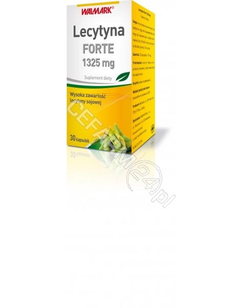 WALMARK Lecytyna forte 1325 mg x 30 kaps