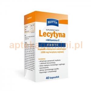 DIAGNOSIS Lecytyna + witamina E Forte, 40 kapsułek