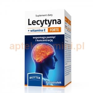 DIAGNOSIS Lecytyna + witamina E Forte, 75 kapsułek