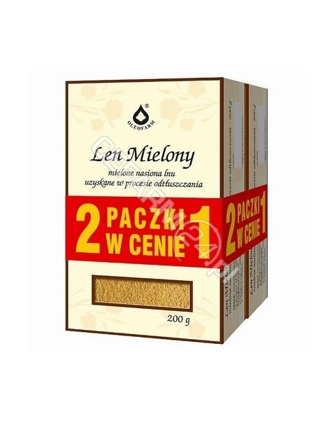 OLEOFARM Len mielony 200 g (duopack) oleofarm