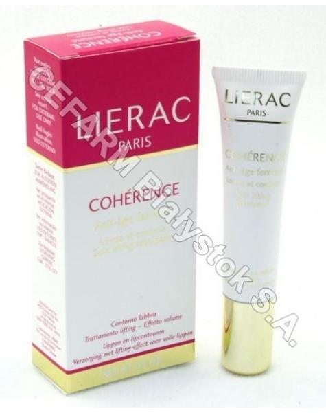 LIERAC Lierac coherence levres - ujędrniający krem do skóry wokół ust 15 ml