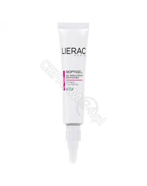 LIERAC Lierac dioptigel - żel zmniejszający worki pod oczami 10 ml