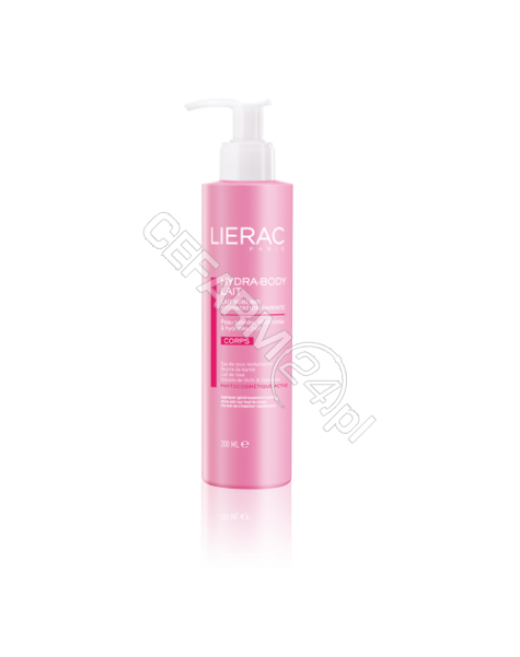LIERAC Lierac hydra body lait - satynowe mleczko nawilżające 200 ml
