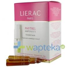 LIERAC LIERAC PHYTREL AMPOULES Intensywna kuracja ujędrniająca biust 20 x 5 ml